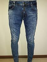 Мужские джинсы потертые Марио 0165