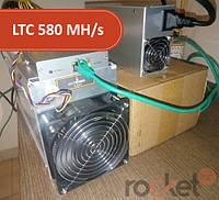 Асик Bitmain Antminer L3++ 580 MH/s + БП Bitmain 1600 Вт (Litecoin)