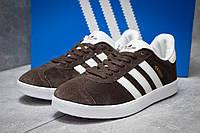 Кроссовки реплика мужские Adidas Gazelle, коричневые (14132),  [  41 42 43 44 45  ], фото 1