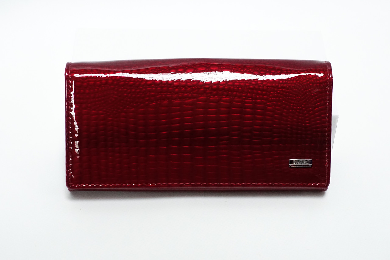 8acb9fc5c1df Кожаный кошелек Balisa на магните 826H-2 red