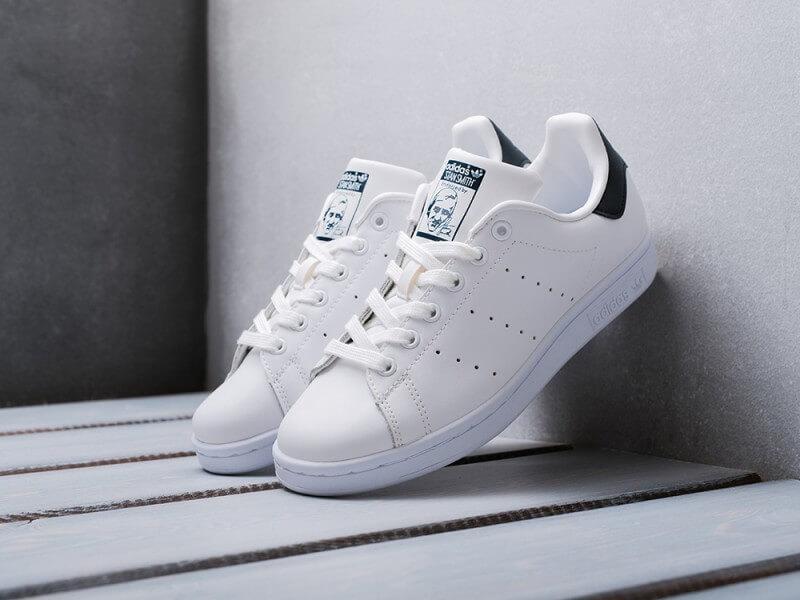 c230f4db90fe Кроссовки Adidas Stan Smith White Navy Blue - Интернет магазин обуви  «im-РоLLi»