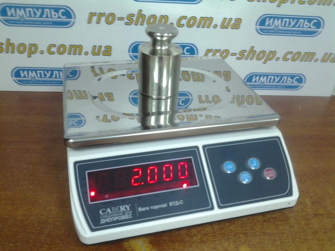 Весы фасовочные Днепровес ВТД-С (3 кг, 6 кг, 15 кг, 30 кг)