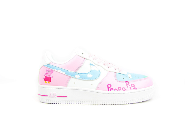 a1db0eb5 Кроссовки в стиле Nike Air Force 1 Low Retro Sneakers Pepa Pig ...