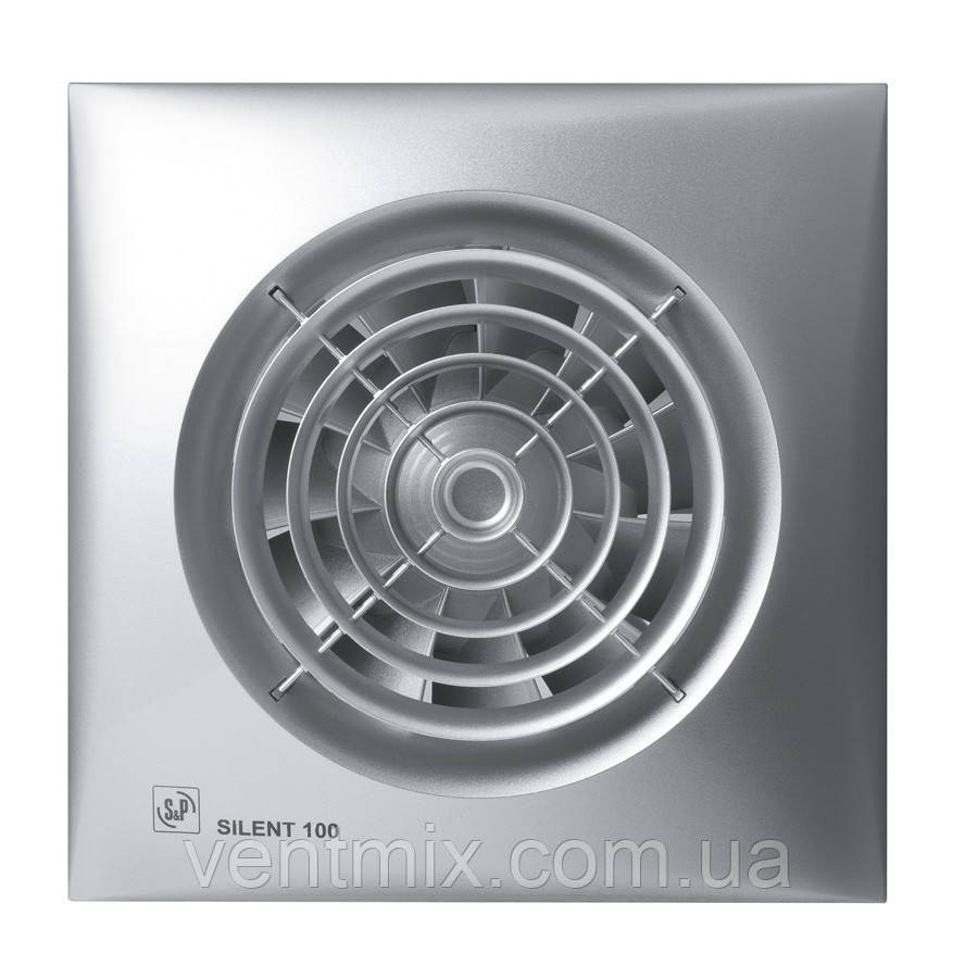 Вентилятор вытяжной Silent 100 CZ Silver