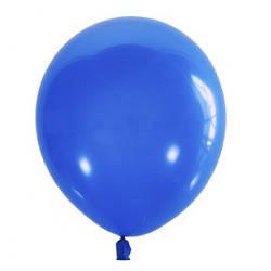"""Воздушный шар Мексика Latex Occidental 12"""" (30 см) Пастель DARK BLUE 003 (100 шт)"""