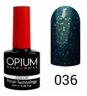Гель-лак Opium 8 мл №036
