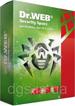 Dr. Web Security Space 1 ПК 24 месяца электронная лицензия