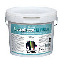 Шпаклевка Capadecor Stucco DI Perla Silber 2.5 л