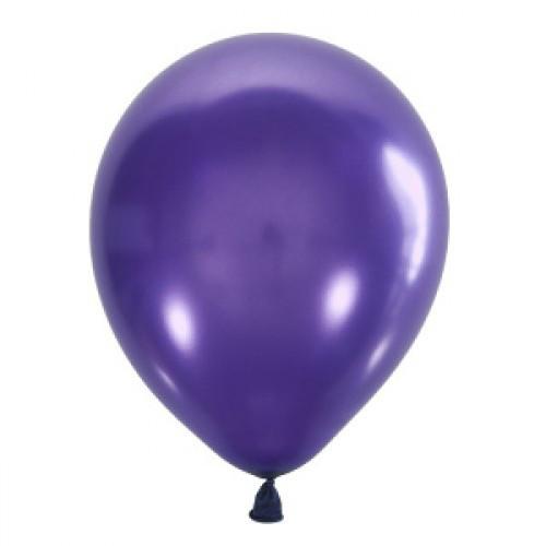"Воздушный шар Мексика Latex Occidental 12"" (30 см) Металлик PURPLE 023 (100 шт)"