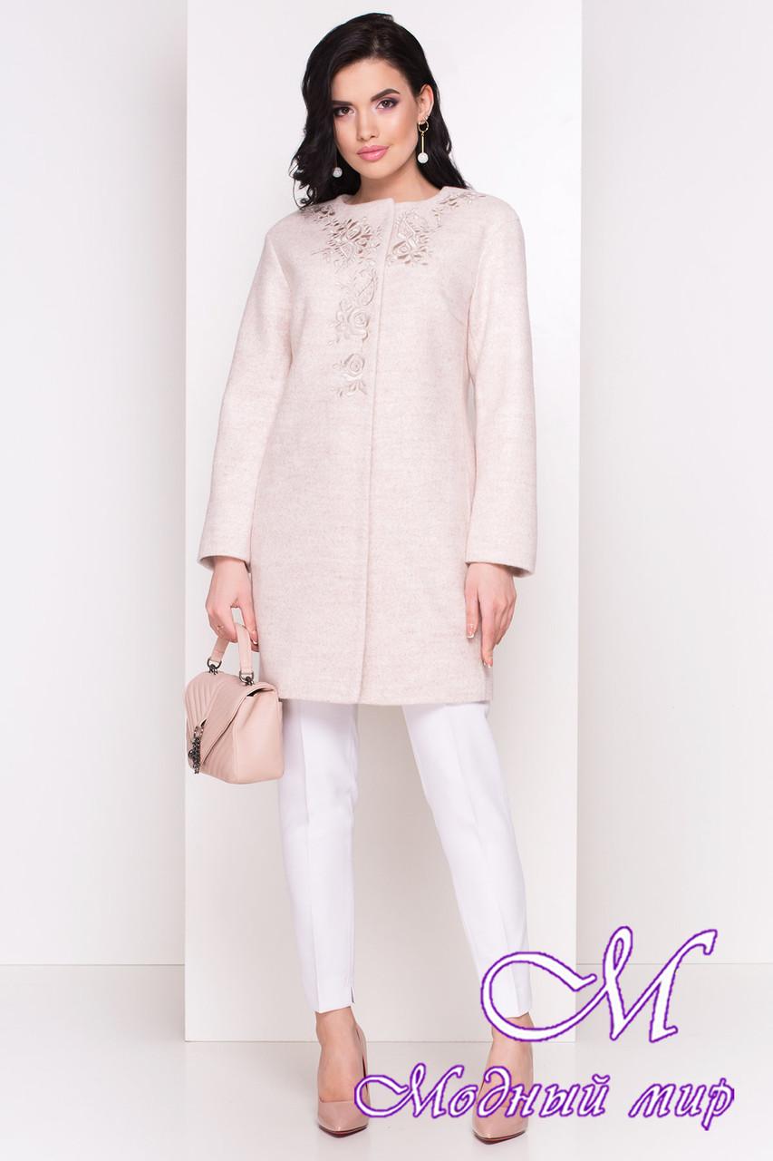 Красивое женское пальто на осень весну (р. S, M, L) арт. Авелони 4555 - 34116