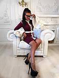 """Женское платье """"Гучи"""" со съемными рукавами-воланами (4 цвета), фото 2"""
