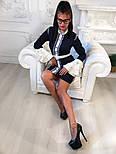 """Женское платье """"Гучи"""" со съемными рукавами-воланами (4 цвета), фото 7"""
