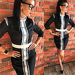 """Женское платье """"Гучи"""" со съемными рукавами-воланами (4 цвета), фото 10"""