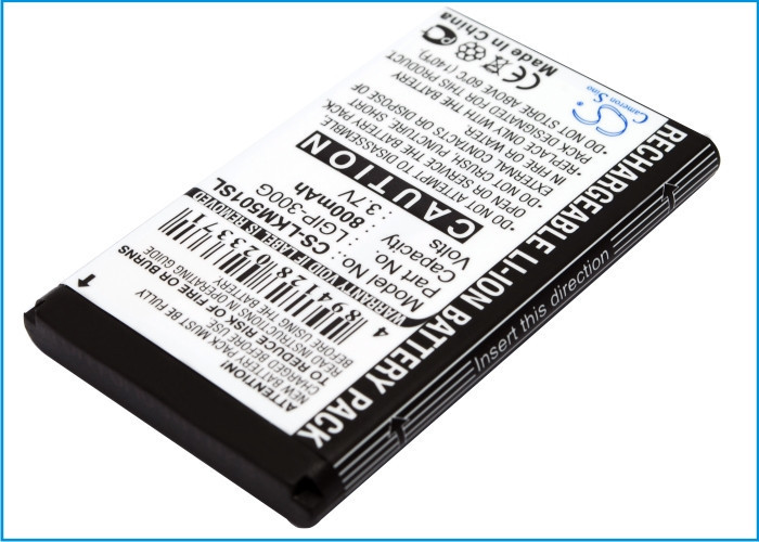 Батарея на ЭЛДЖИ  Аккумулятор LG LGIP-300G 800 mAh ГАРАНТИЯ 12 МЕСЯЦЕВ