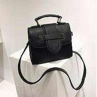 Женская сумка в стиле Celine, селин в черном