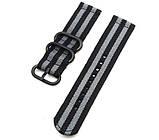 Нейлоновый ремешок Primo Traveller для часов Huawei Watch 2 - Black&Grey, фото 3
