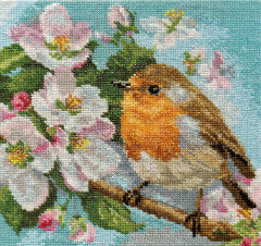 Набор для вышивки крестом Алиса 1-20 «Малиновка»