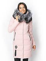Куртка женская с мехом чернобурки в Украине. Сравнить цены b852512b29254
