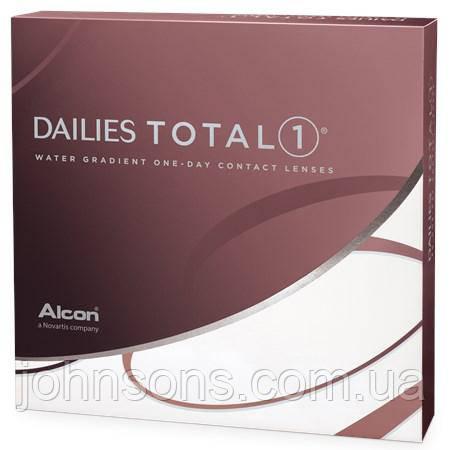 Одноденні контактні лінзи Dailies Total 1 - 1уп (90шт)
