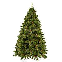 Искусственная елка Triumph Tree Dewberry зеленая с шишками и ягодами ежевики 1,85 м (8718861155341)
