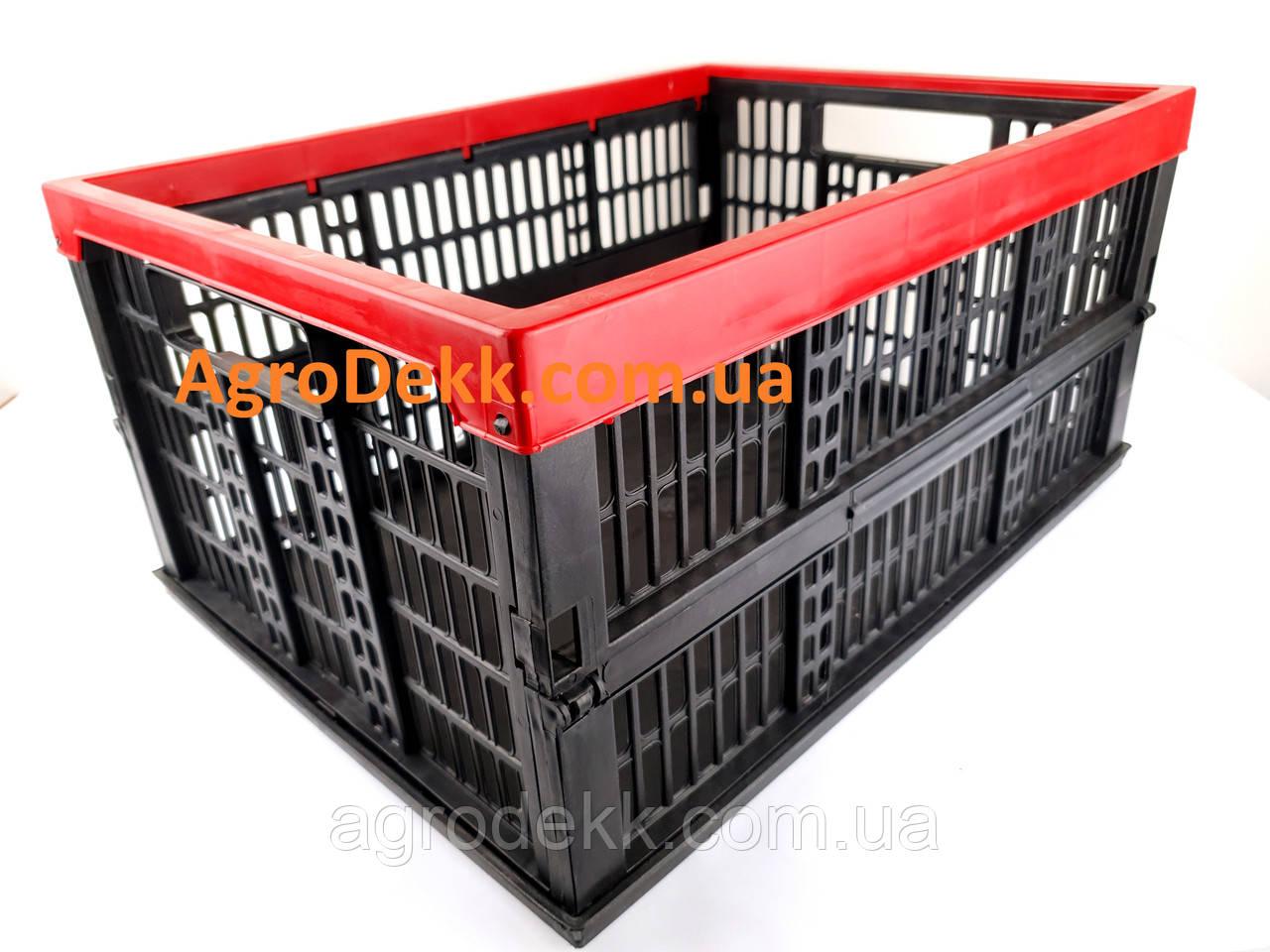 Ящик пластиковый складной 480х350х240/60мм