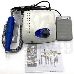 Аппарат для маникюра и педикюра, фрезер Strong 210 c ручкой 105L -  40000 об/мин 65w с сумкой