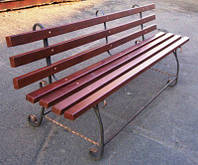 Скамейки в парк