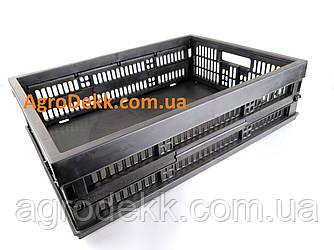 Ящик пластмасовый, пластиковый 480х350х126/60мм