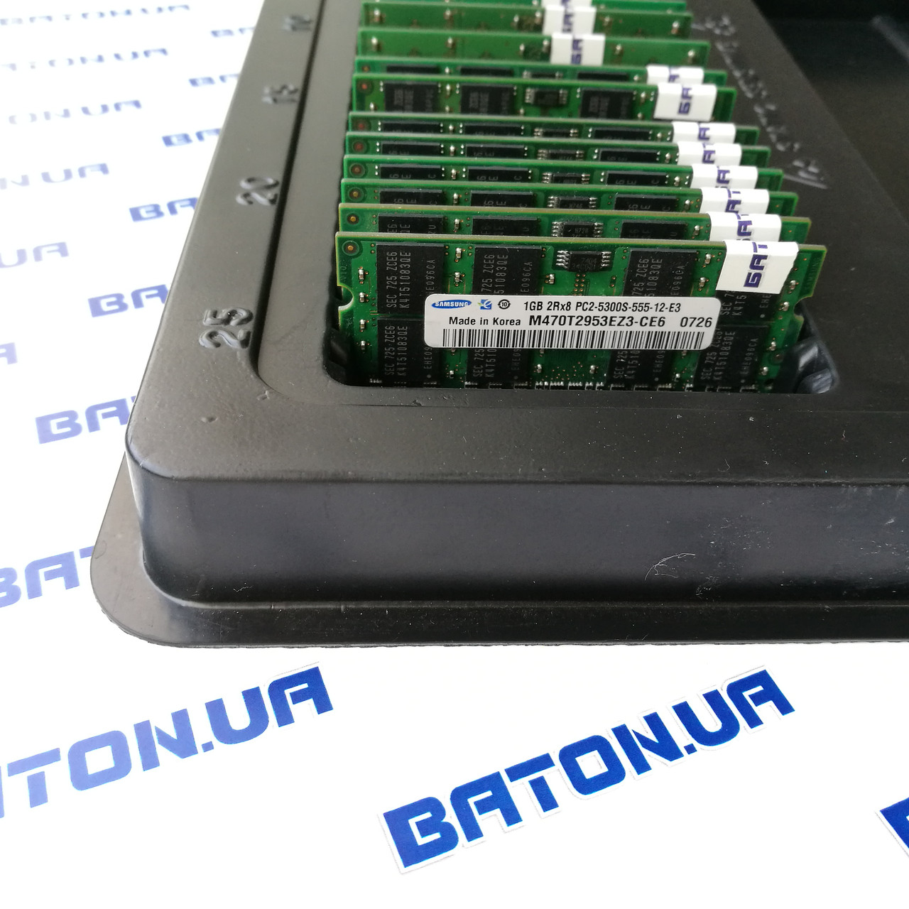 Оперативная память Samsung SODIMM DDR2 1Gb 667MHz 5300s CL5 (M470T2864QZ3-CE6)