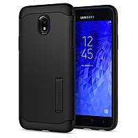 Чехол Spigen для Samsung Galaxy J7 (2018) Slim Armor, Black (595CS24019)