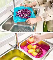 Пластиковый коврик-дуршлаг для раковины, Пластиковий килимок-друшляк для раковини, Аксессуары для кухни