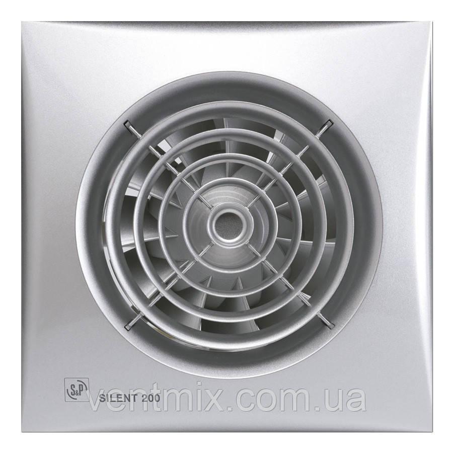 Вытяжной вентилятор Silent 200 CZ Silver