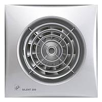 Малошумный вытяжной вентилятор Soler & Palau Silent 200 CRZ Silver