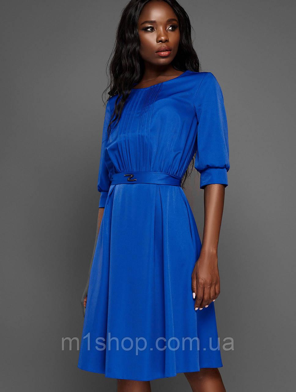 Женское платье с юбкой полусолнце (Беттиjd)