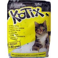 Kotix - силикагелевый наполнитель для кошачьего туалета 7,6л.