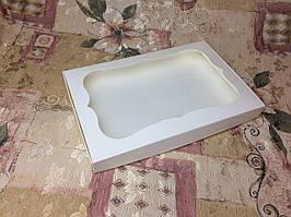 Коробка для пряников Молочная с окном 200*300*30