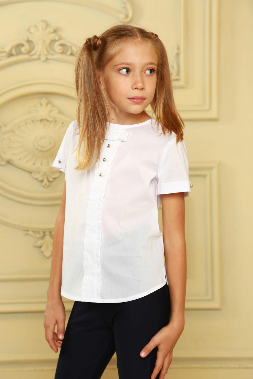 Школьная блуза стильная