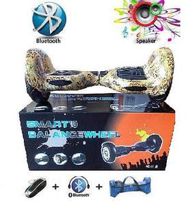 Гироборд 8 (подсветка, колонка, пульт ДУ, Bluetooth, чехол) Smart Balance l4-8