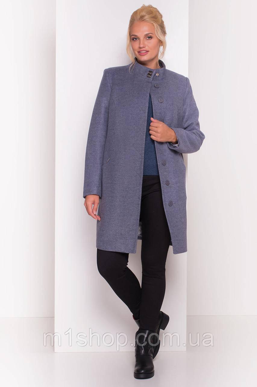 демисезонное пальто больших размеров Modus Сплит DONNA 4466