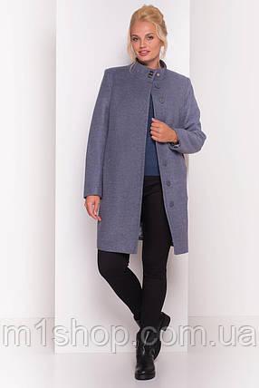 демисезонное пальто больших размеров Modus Сплит DONNA 4466, фото 2