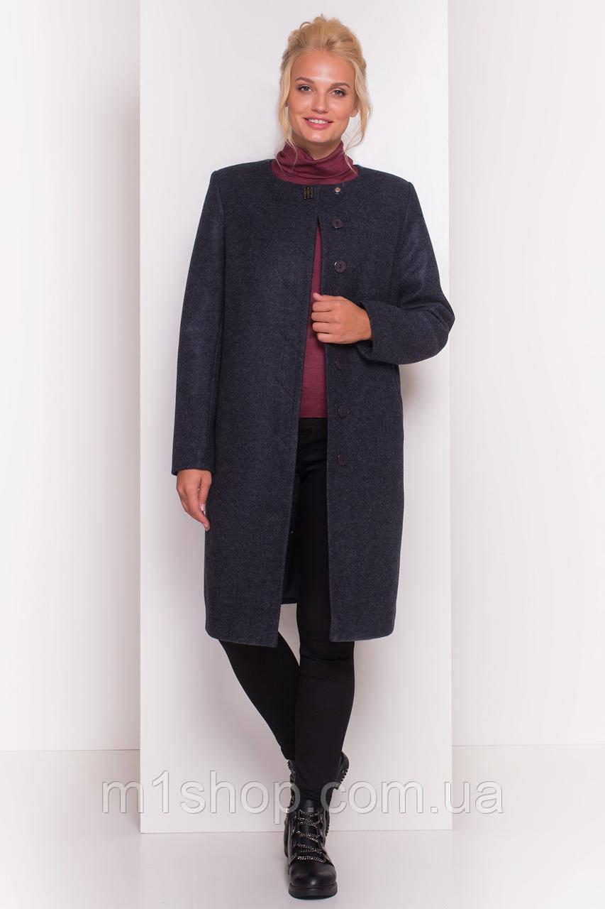 демисезонное пальто больших размеров Modus Фортуна лайт Donna 4464