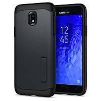 Чехол Spigen для Samsung Galaxy J7 (2018) Slim Armor, Metal Slate (595CS24020)