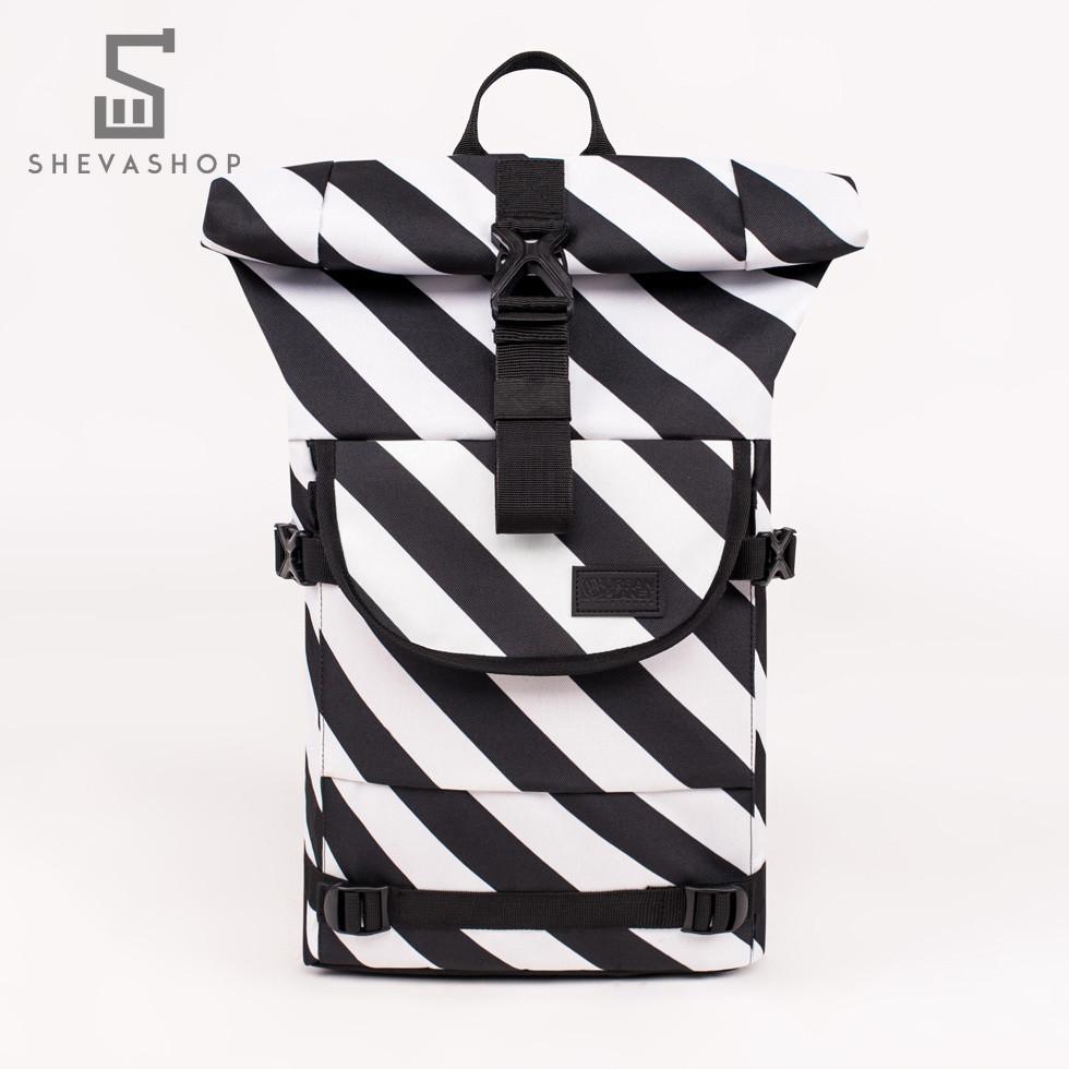 Рюкзак UP B4 DIA черный с белым