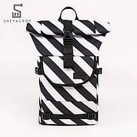 Рюкзак UP B4 DIA черный с белым, фото 1