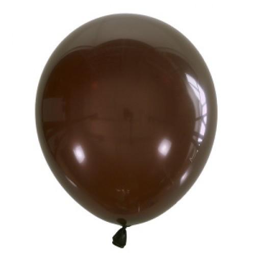 """Воздушные шары Мексика Latex Occidental 12"""" (30 см) Декоратор BROWN 067 (100 шт)"""