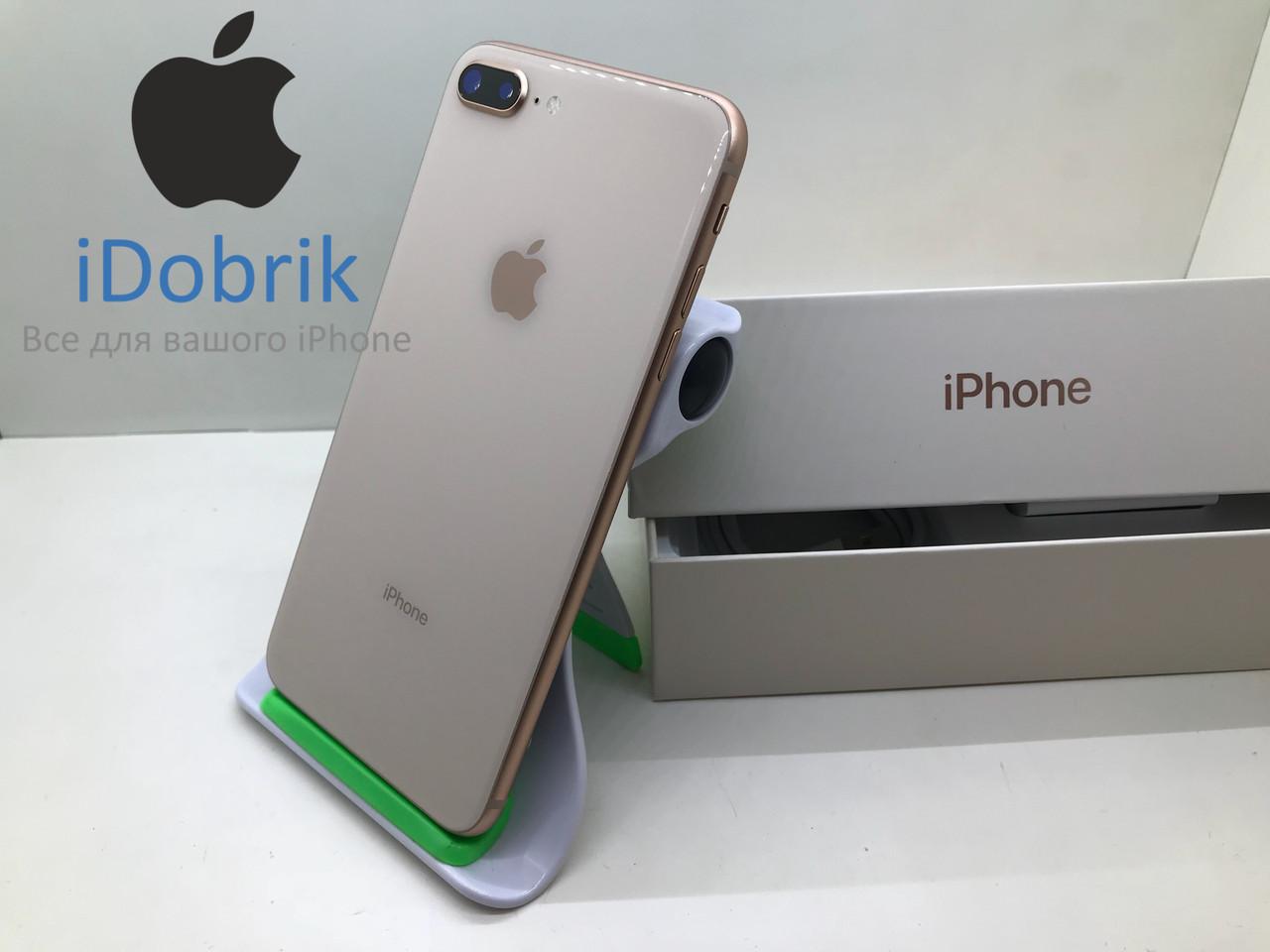 Б/У iPhone 8 Plus 256gb Gold Neverlock 10/10
