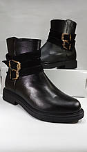 Демисезонные  ботинки из натуральной кожи  MIDA 22346