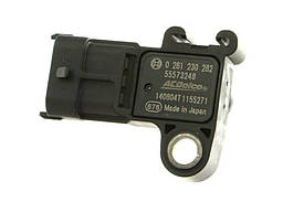 Датчик вакумный (барометрического) давления воздуха во впускном коллекторе GM 55573248 12591290 93192107