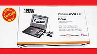 """DVD Opera 758 7,8"""" Портативный DVD-проигрыватель с Т2 TV USB SD, фото 1"""