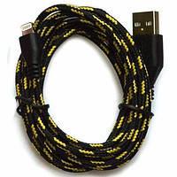 USB-кабель в тканевой оплётке Lightning 1 метр